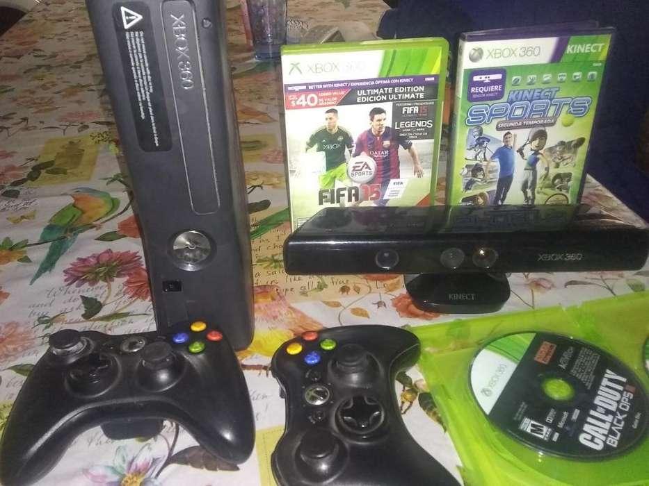 Vendo Xbox 360 Juegos ,kinet , Joystick