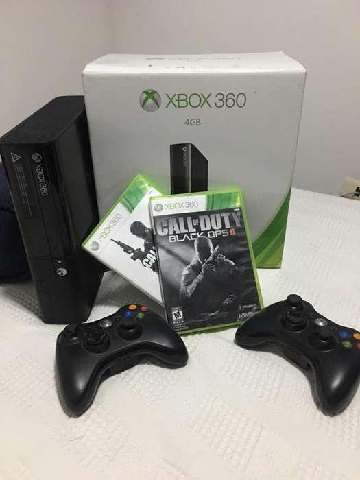 Xbox 360 4Gb 3 Juegos Control
