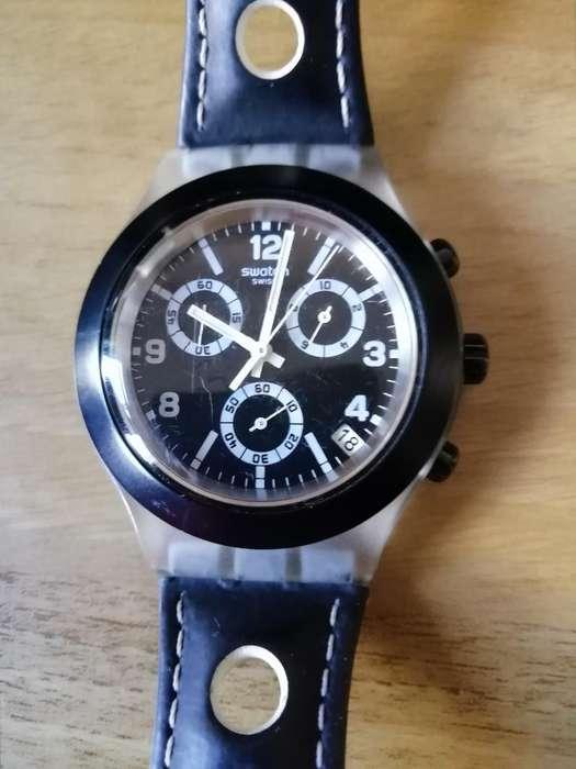 Reloj Suizo Swatch Irony, en Buen Estado