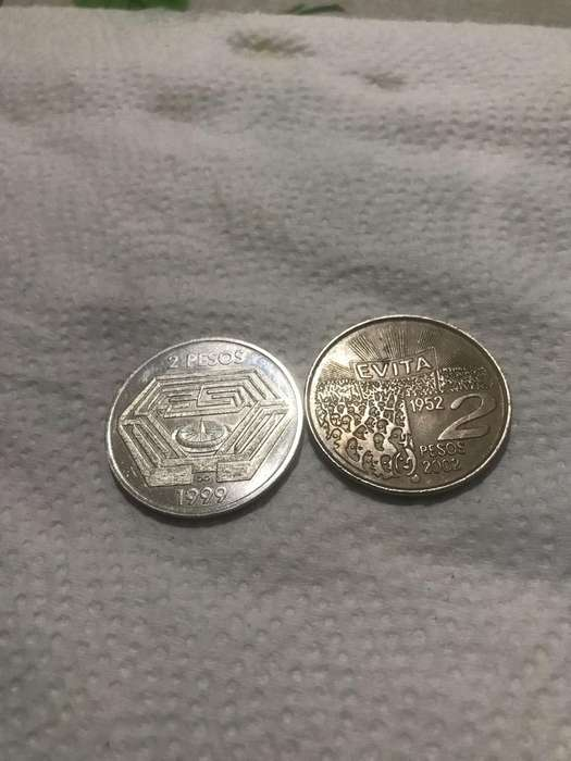 Moneda de Dos Pesos
