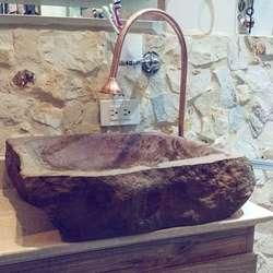 Lavamanos Rusticos en Piedra