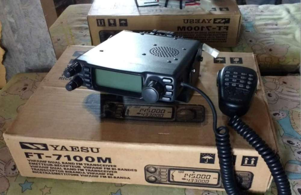 Base Bibanda Yaesu Ft7100