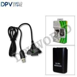 Batería Recargable 4800 Mah Control Inalámbrico Xbox 360