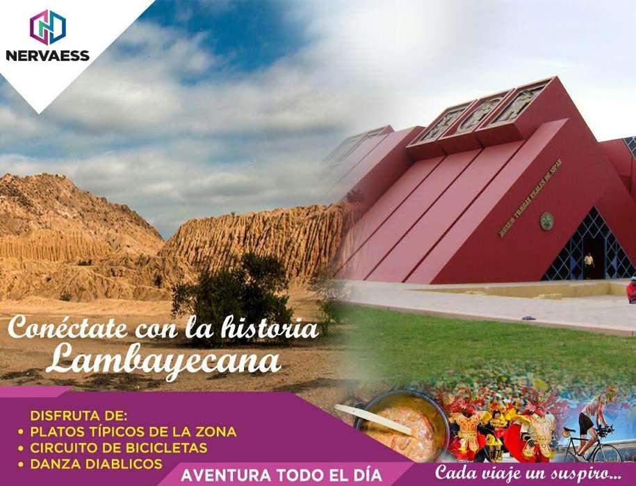 Conéctate con La Cultura Lambayecana