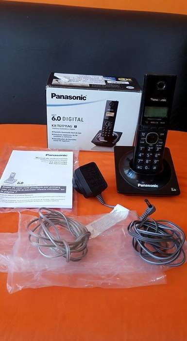 Telefono inalambrico Panasonic 6.0 como nuevo impecable completo