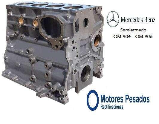 Semiarmados Mercedes Benz Accelo Atego Atron Axor Actros motores OM 904 y OM 906