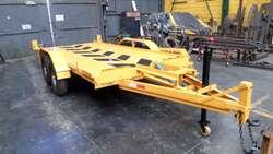 Trailer Basculantes de 3000 o 5000 Kg Autos Camionetas Auxilio Mecánico Camilla Minipala