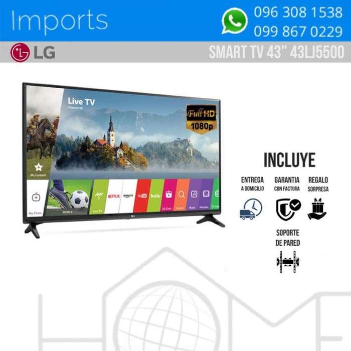 Televisión / LG / 43 / NEGRO / FULLHD
