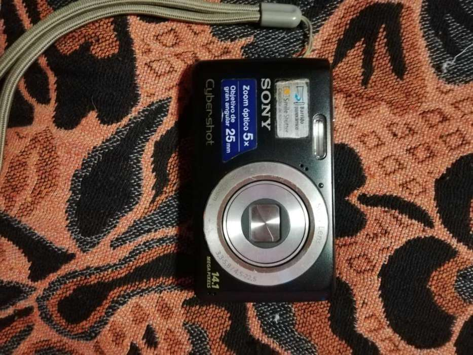 Camara <strong>digital</strong> Sony Cyber Shot Dsc-w520