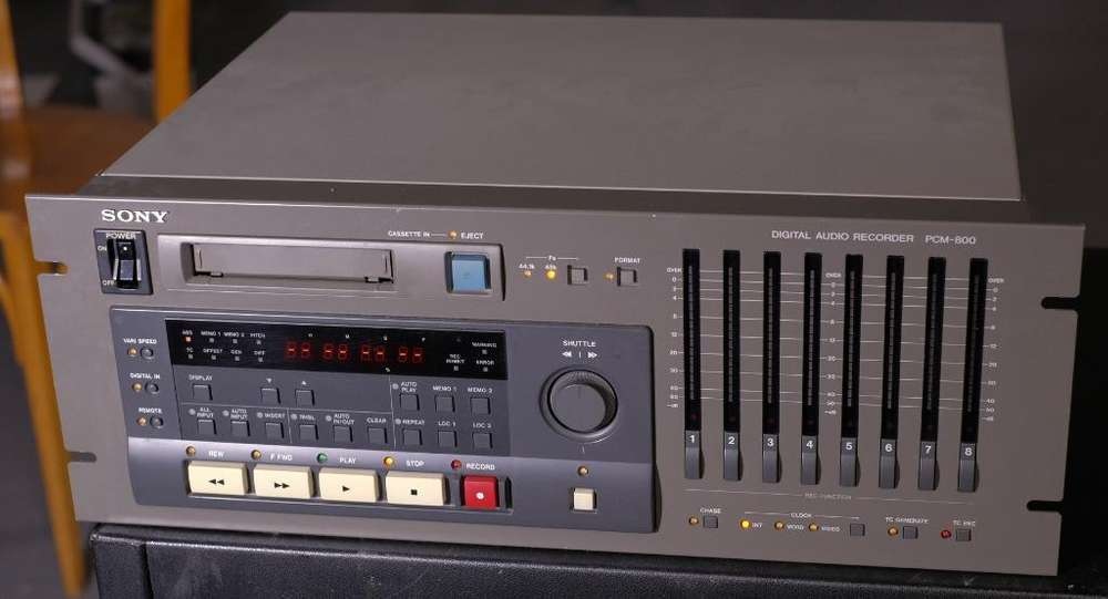 Tascam Da 88 Adat Grabador Sony Pcm