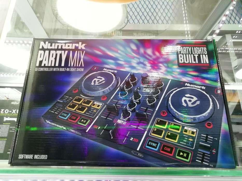 Controlador Dj Numark Party Mix