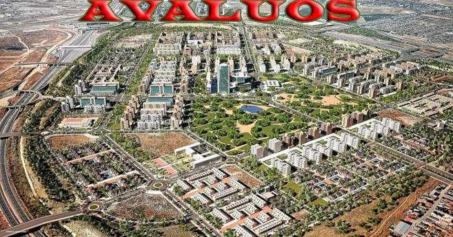 Avalúo de inmuebles terrenos construcciones