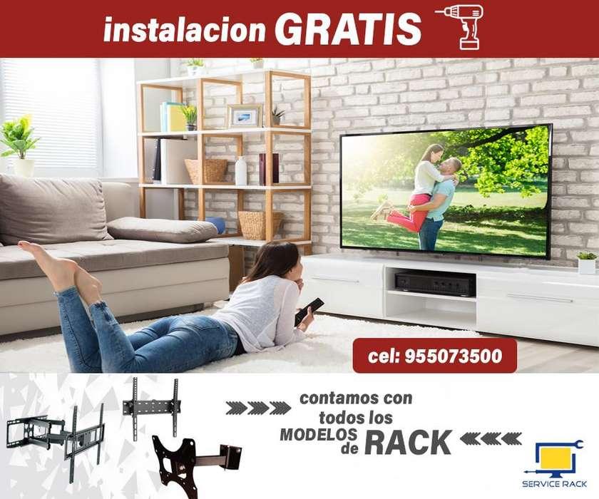 rack para tv