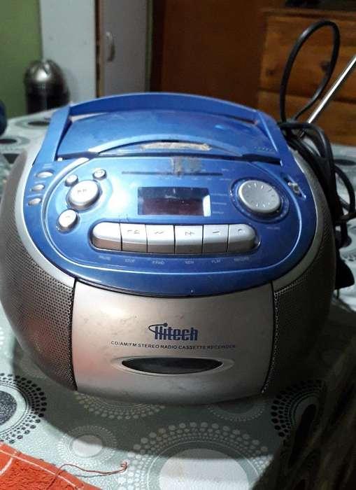 Radio Grabador con C/d