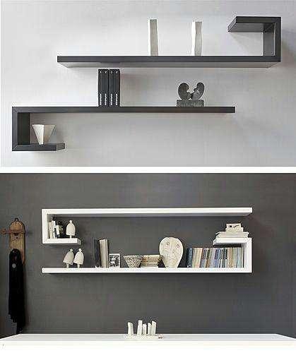 Repisas de pared minimalistas, listas para entregar, modular libreros estante