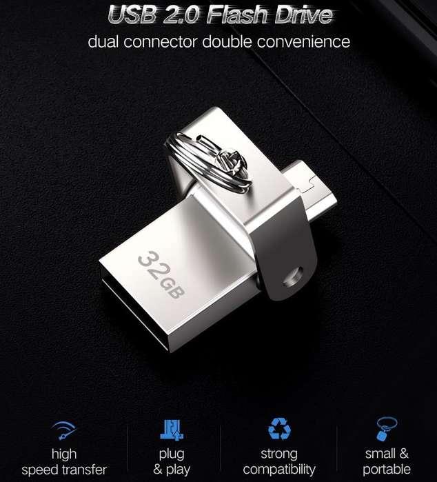 Memoria Micro USB OTG Dual de 32gb Ugreen