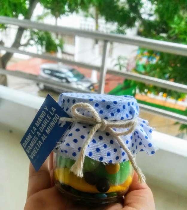 Jars de Gomitas,galletas Y Chocolates