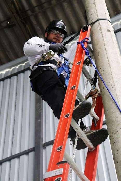 Certificación de trabajos seguros en alturas