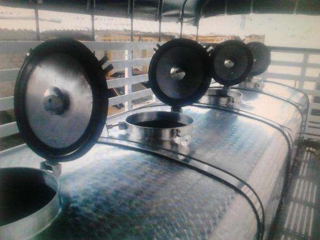 Tanques para carroceria para el trasporte de leche
