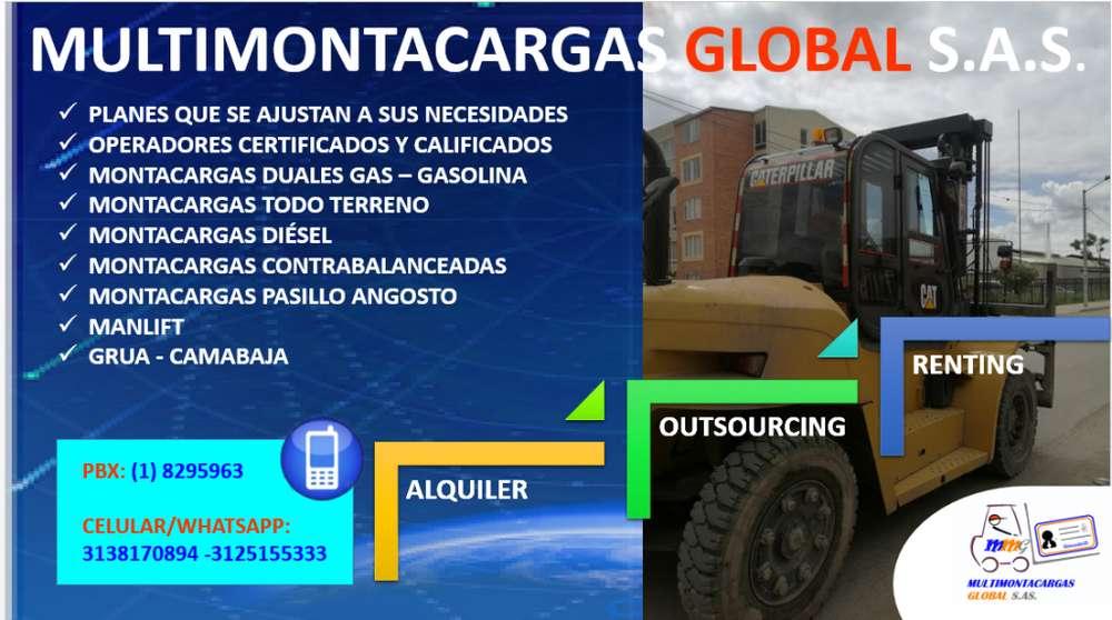 SERVICIO DE MONTACARGAS GRUAS CAMABAJAS