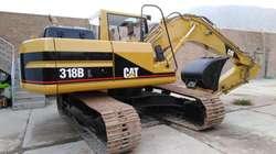 EXCAVADORA CAT 318BL DEL 2000 IMPORTADO