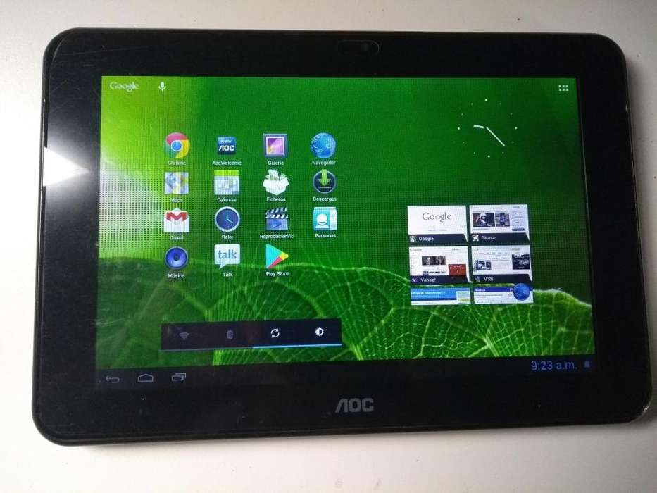 Tablet Aoc Mw0931-p Breeze de 9 Pulgadas