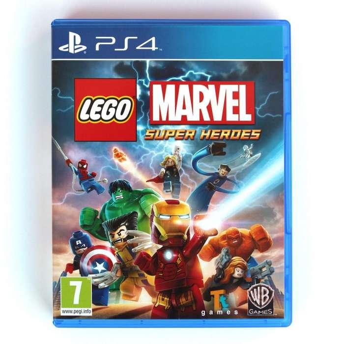 VIDEOJUEGO LEGO MARVEL PS4