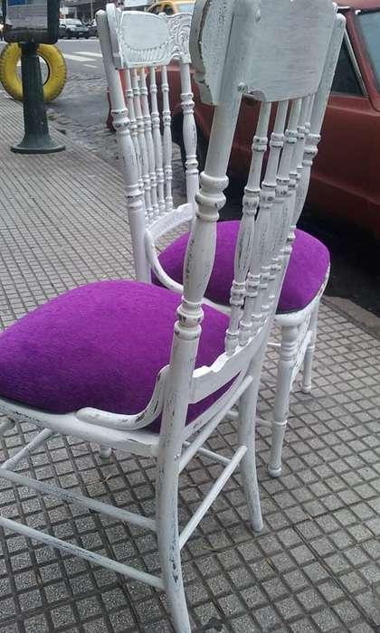 <strong>silla</strong>s con tapizado a eleccion 3500 cada una