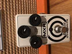 MXR pedal para guitarra – Overdrive.