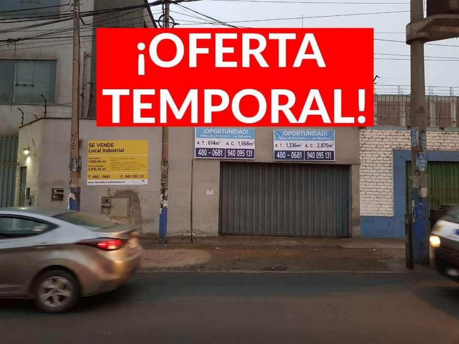 ¡Oferta Temporal! Ahora 3,722,500 Hasta El 15.10.19 Local Industrial