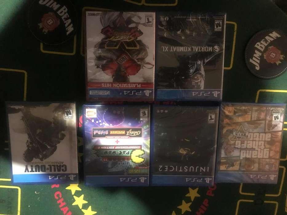 Juegos PS4 Nuevos Sellados