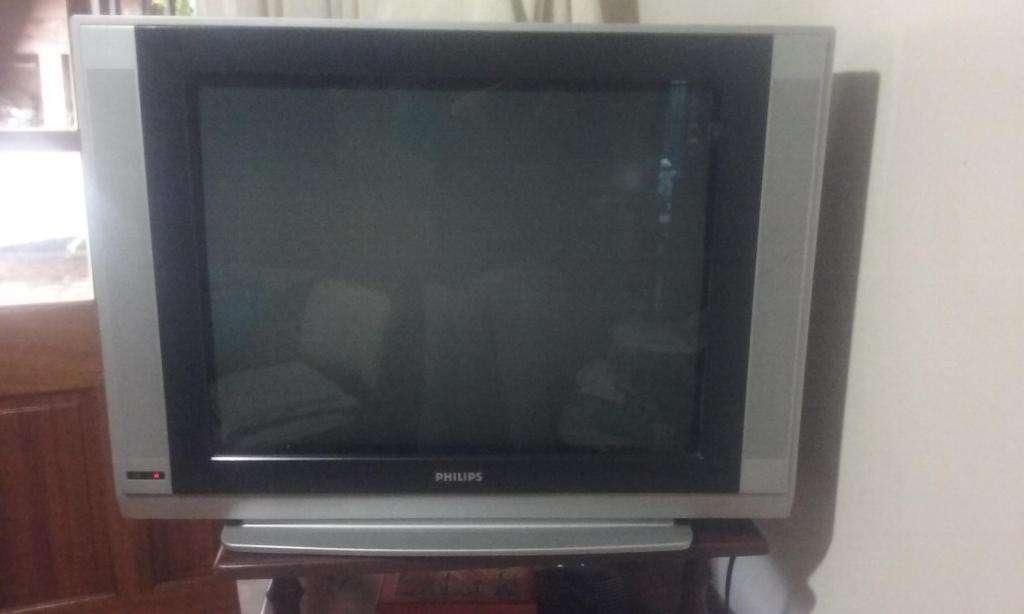 Tv phillips real flat pantalla plana usado 29 pulgadas
