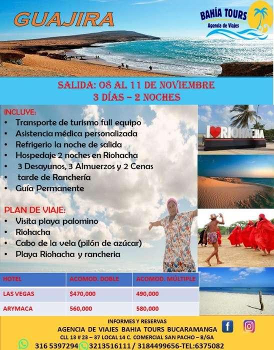 Guajira 3 Dias 2 Noches Noviembre 08