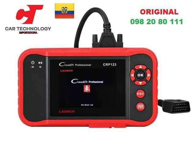 Escaner Automotriz Original Launch Scanner CRP123 X431 OBD2 Scaner Auto OBDII