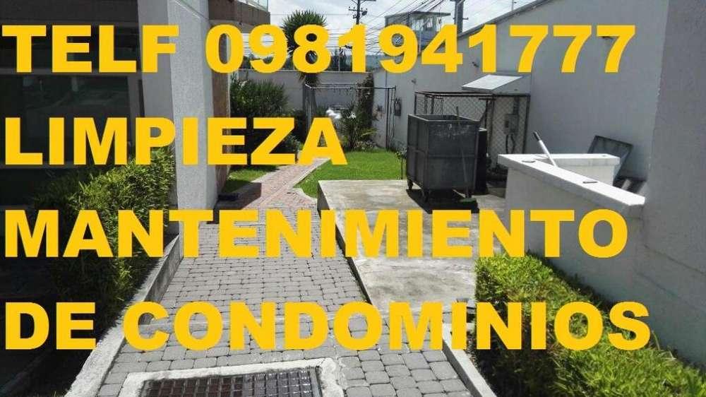 LIMPIEZA Y MANTENIMIENTO DE EDIFICIOS TELF 0983439614