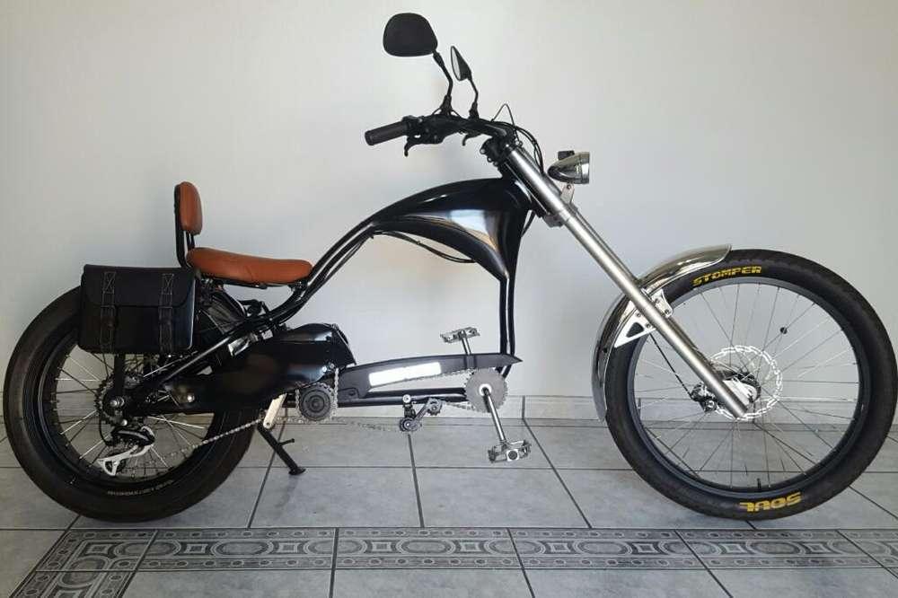 <strong>bicicleta</strong> Eléctrica Chopper Bobber Moto