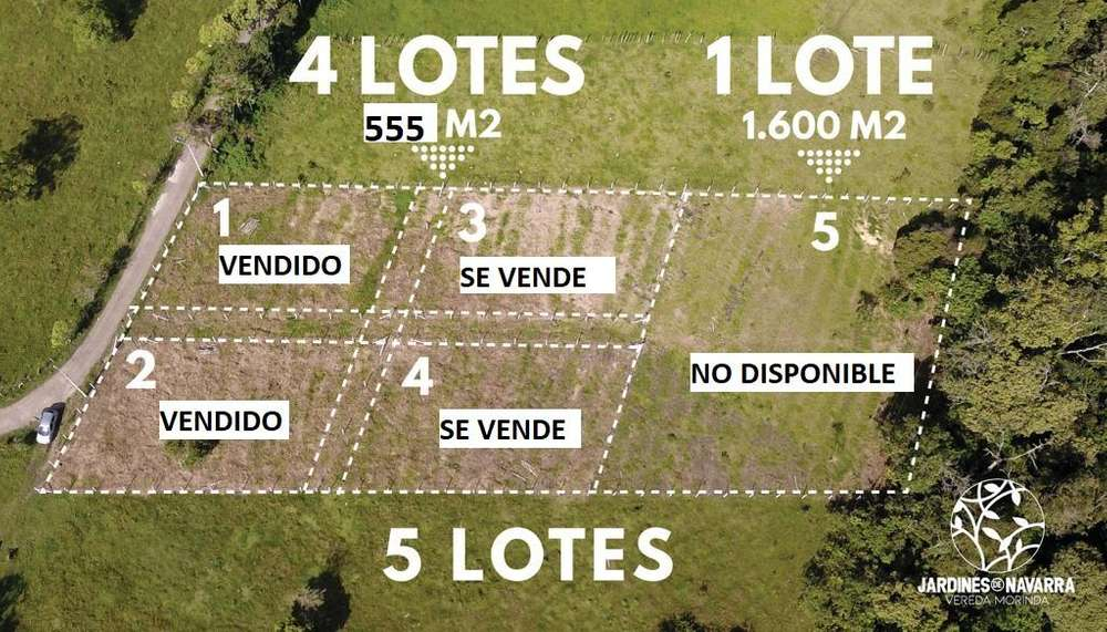 VENTA LOTES # 3 Y # 4 VARIANTE NORTE PLANOS - POPAYÁN