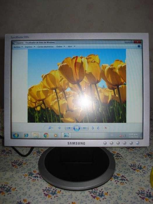 Monitor Lcd 15 Samsung Exc Imagen Funcionando Leer Detalle