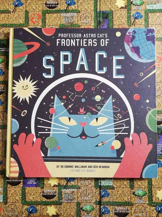 Libro Professor Astro Cat Frontier Of Space Ingles Usado
