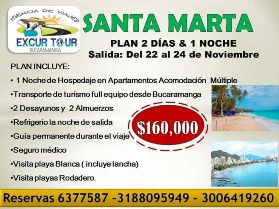 Tour Santa Marta desde Bucaramanga