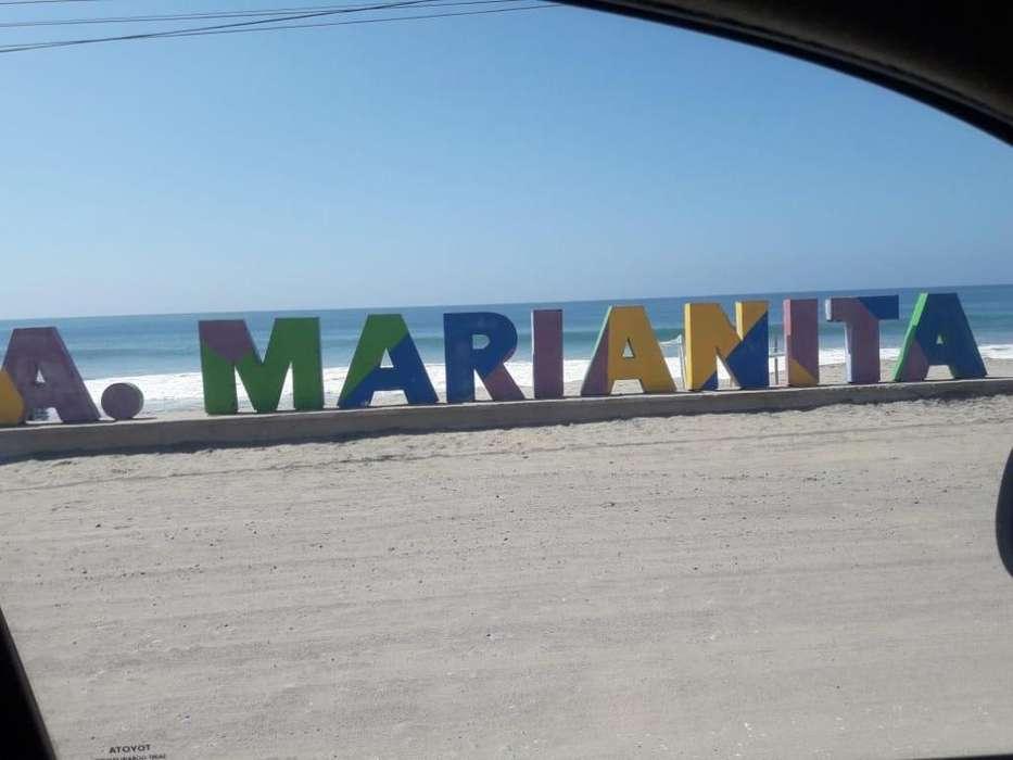 TERRENO 220 mtrs a 30 mts del mar, Santa Marianita Manta 0993948484