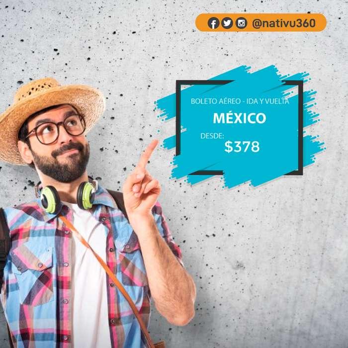 BOLETO MEXICO !