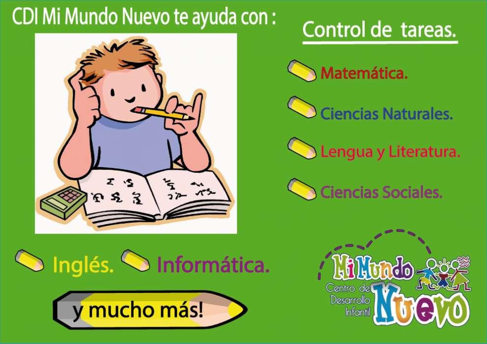 Ayuda Psicopedagogica - control de tareas, clases de <strong>arte</strong>s.