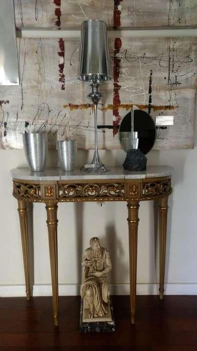 Mesa consola Luis XV impecable