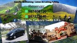 Transporte Turístico Norte Chico y Sur