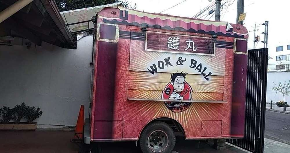 vendo remolque food truck de acero inoxidable