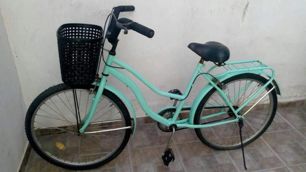 Bici R.26 Mujer 4500 Y Playera 4000