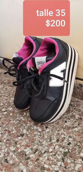 Zapatillas con Plataforma 35