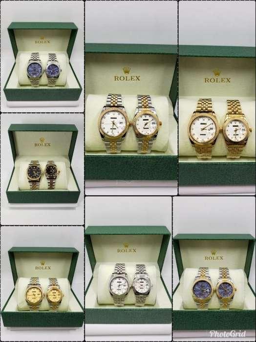Relojes parejas Rolex