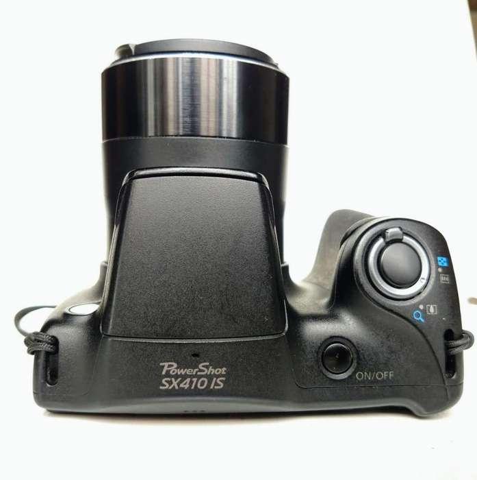 Camara Canon power shot SX 410 IS en excelente estado